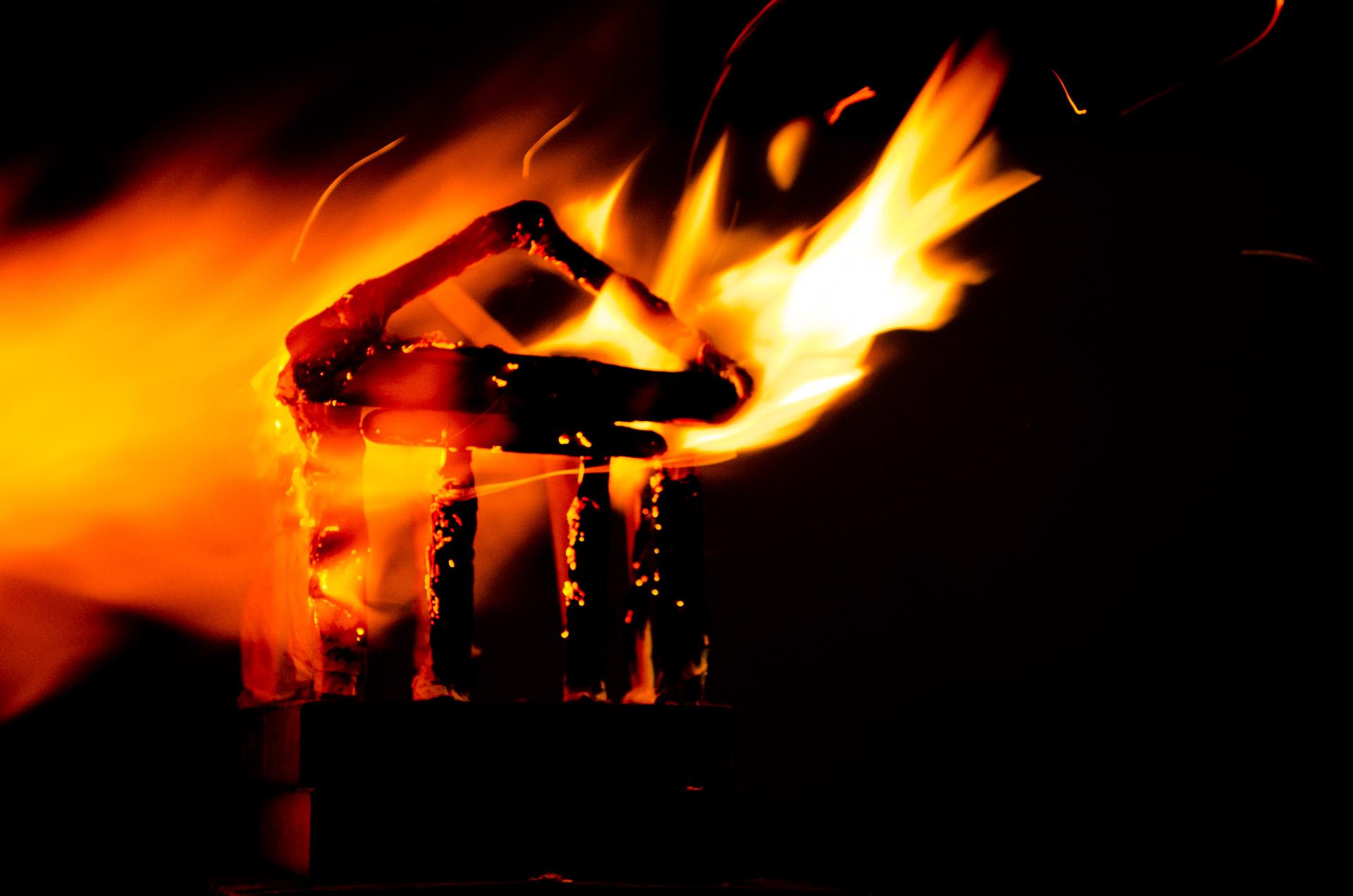 Naturaleza, Fuego, Arte